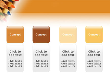 Color Pencil PowerPoint Template Slide 5