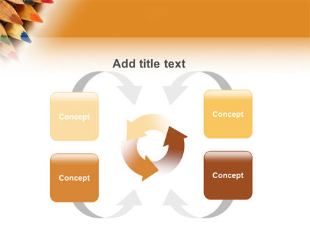 Color Pencil PowerPoint Template Slide 6
