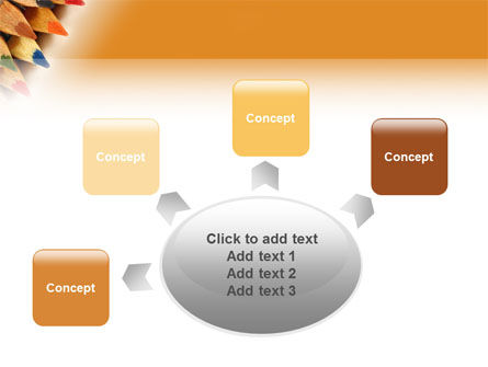 Color Pencil PowerPoint Template Slide 7