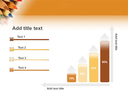 Color Pencil PowerPoint Template Slide 8