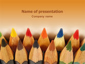 Color Pencil PowerPoint Template#1