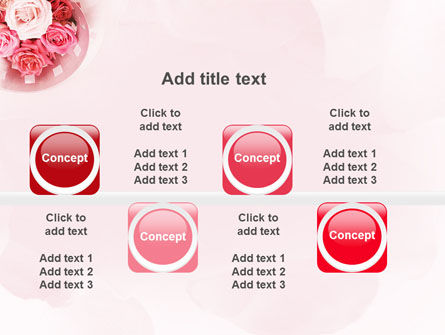 Roses PowerPoint Template Slide 19