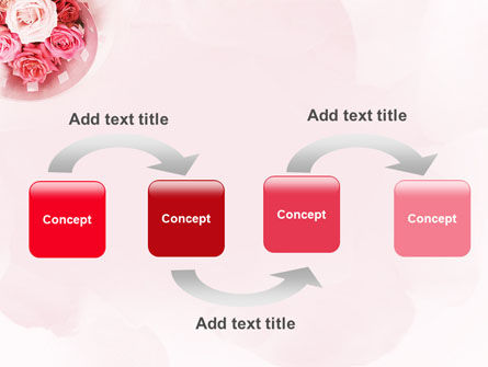 Roses PowerPoint Template, Slide 4, 02354, Holiday/Special Occasion — PoweredTemplate.com