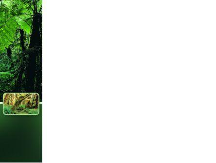 Tropical Forest PowerPoint Template, Slide 3, 02355, Nature & Environment — PoweredTemplate.com