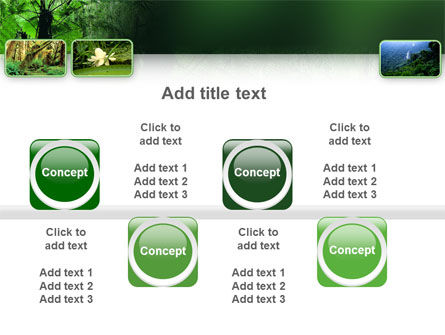 Tropical Forest PowerPoint Template Slide 19