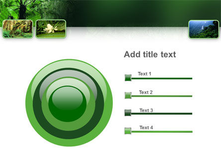 Tropical Forest PowerPoint Template Slide 9