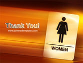 Icon Women PowerPoint Template#20