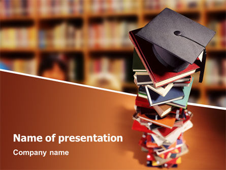 Education & Training: Academic Studies PowerPoint Template #02359