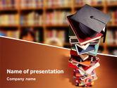 Education & Training: Academic Studies PowerPoint Template #02359