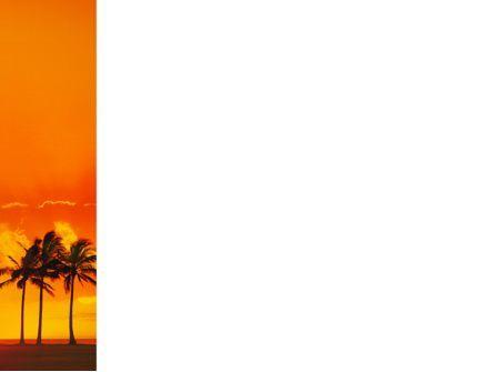 Seaside PowerPoint Template, Slide 3, 02360, Nature & Environment — PoweredTemplate.com