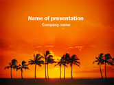 Nature & Environment: Seaside PowerPoint Template #02360