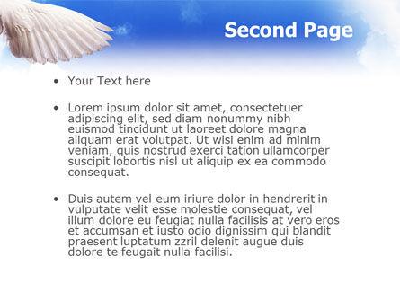 Holy Spirit PowerPoint Template, Slide 2, 02361, Religious/Spiritual — PoweredTemplate.com