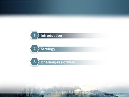 Power Station PowerPoint Template, Slide 3, 02362, Utilities/Industrial — PoweredTemplate.com