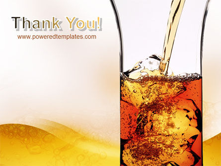 Ice Tea PowerPoint Template Slide 20