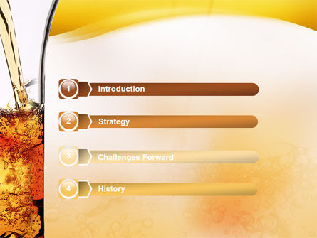 Ice Tea PowerPoint Template Slide 3