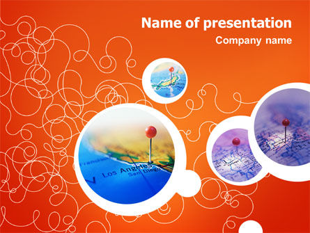 Cities PowerPoint Template, 02366, Careers/Industry — PoweredTemplate.com