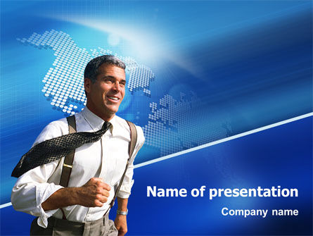 Business Opportunity PowerPoint Template, 02368, Global — PoweredTemplate.com