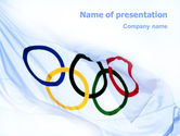 Sports: Olympic Games PowerPoint Template #02369