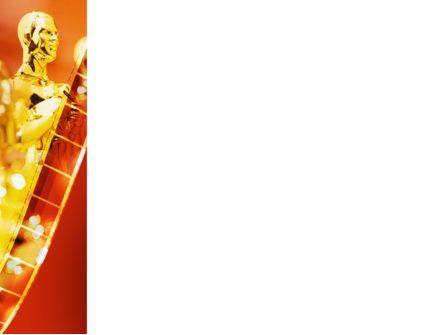 Movie Award PowerPoint Template, Slide 3, 02371, Art & Entertainment — PoweredTemplate.com