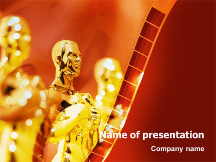 movie award powerpoint template, backgrounds | 02371, Modern powerpoint