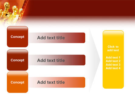 Movie Award PowerPoint Template Slide 12