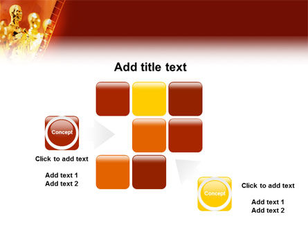 Movie Award PowerPoint Template Slide 16