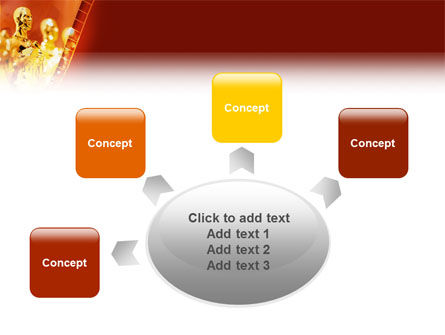 Movie Award PowerPoint Template Slide 7