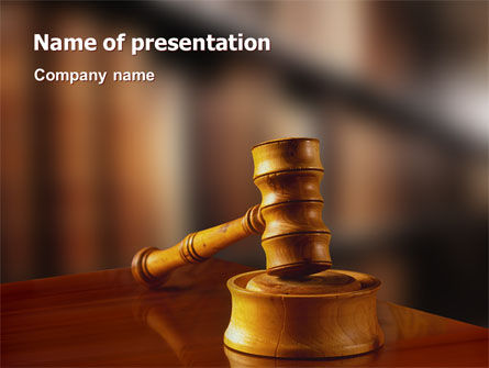 Juridical PowerPoint Template, 02373, Legal — PoweredTemplate.com