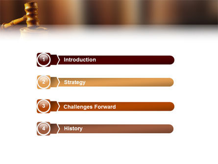Juridical PowerPoint Template, Slide 3, 02373, Legal — PoweredTemplate.com