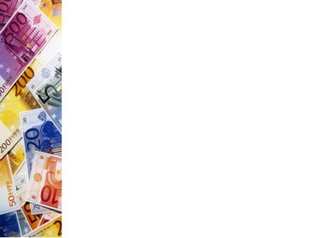 Euro Banknotes PowerPoint Template, Slide 3, 02374, Financial/Accounting — PoweredTemplate.com