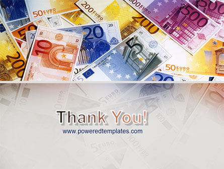 Euro Banknotes PowerPoint Template Slide 20