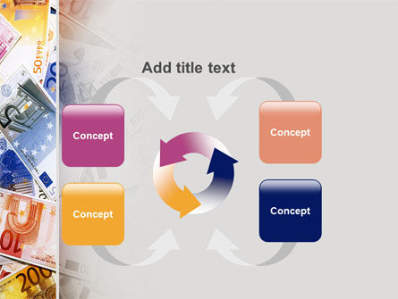 Euro Banknotes PowerPoint Template Slide 6