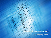 Technology and Science: Computer Card PowerPoint Template #02375