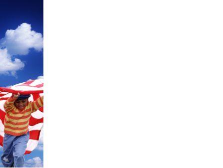 Children Of The USA PowerPoint Template, Slide 3, 02377, People — PoweredTemplate.com