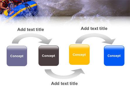 Rafting PowerPoint Template, Slide 4, 02380, Sports — PoweredTemplate.com