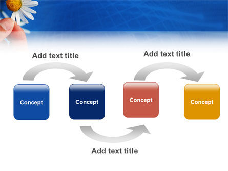 Camomile PowerPoint Template, Slide 4, 02382, Holiday/Special Occasion — PoweredTemplate.com
