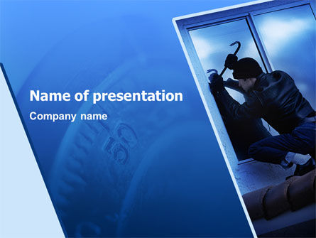 Legal: Robbery PowerPoint Template #02384