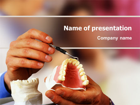 Denture PowerPoint Template