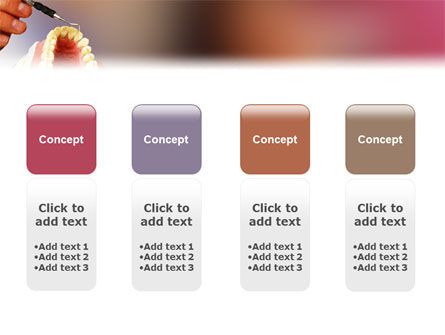 Denture PowerPoint Template Slide 5