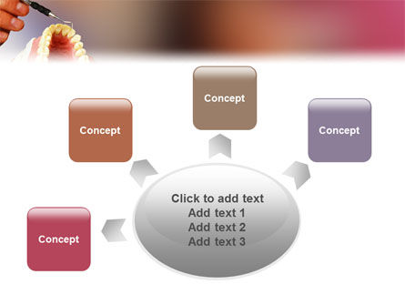 Denture PowerPoint Template Slide 7