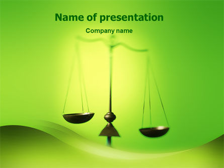 Legal: Balance PowerPoint Template #02386