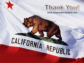 California State Flag PowerPoint Template#20