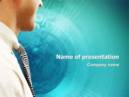 World Business Review PowerPoint Template