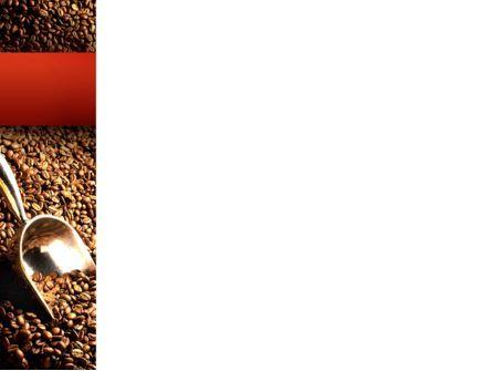 Scattering of Coffee PowerPoint Template, Slide 3, 02392, Careers/Industry — PoweredTemplate.com