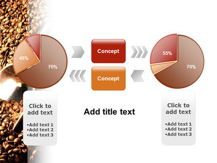 Scattering of Coffee PowerPoint Template Slide 11