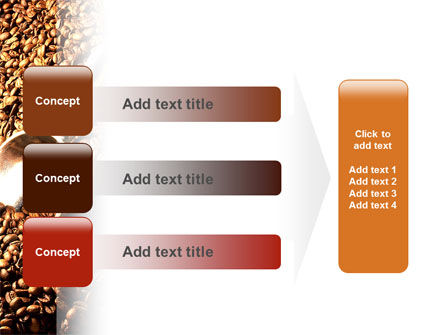 Scattering of Coffee PowerPoint Template Slide 12