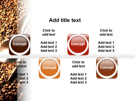 Scattering of Coffee PowerPoint Template Slide 19