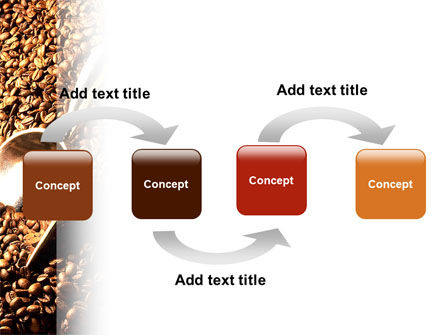 Scattering of Coffee PowerPoint Template Slide 4