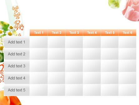 Flower Gift PowerPoint Template Slide 15