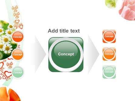 Flower Gift PowerPoint Template Slide 17